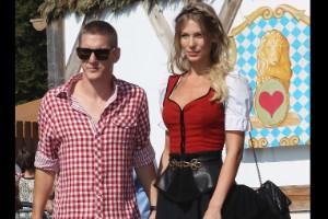 Bastian Schweinsteiger y Sarah Bradner