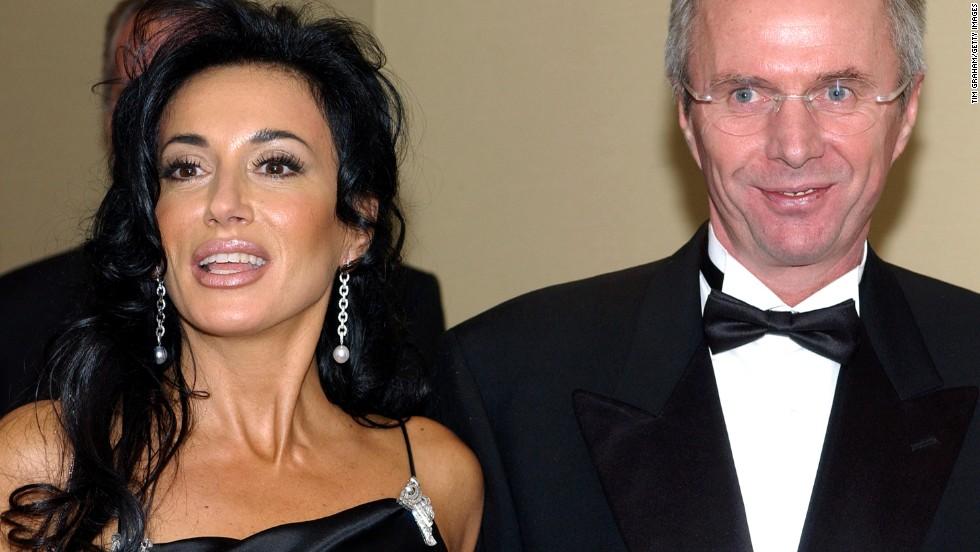 Nancy Dell'Olio y Sven-Goran Eriksson