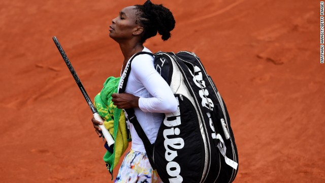 Venus has been hindered by debilitating autoimmune disease Sjogren's Syndrome in recent years, and is currently ranked 29th in the world. Only once in her last seven outings at Roland Garros has she made it past round three.