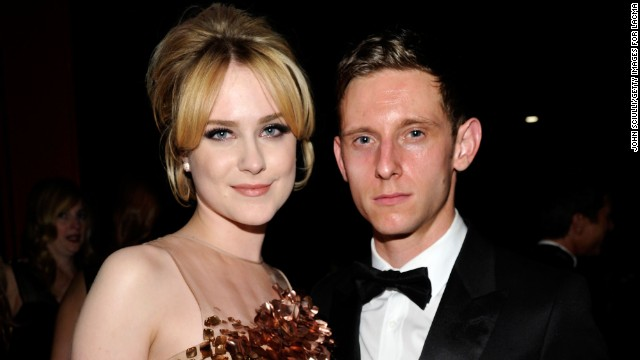 Actors Evan Rachel Wood and Jamie Bell have separated after nearly two years of marriage. The couple, who welcomed a son in July, said in a statement that they plan to remain close friends.