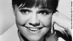 Sally Field\'s 1965 studio head shot for \