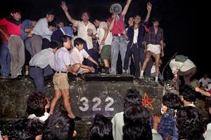 Jeff Widener, el fotógrafo de la imagen del tanque de Tiananmen