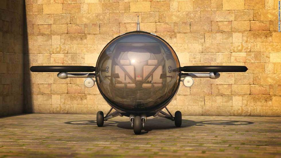 """El """"citicóptero"""" de energía solar"""