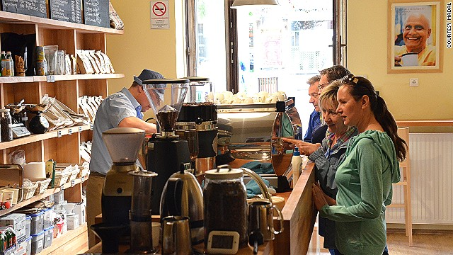 Budapest's coffee culture evolves