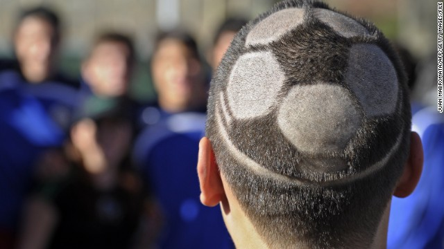 Photos: Crazy World Cup styles