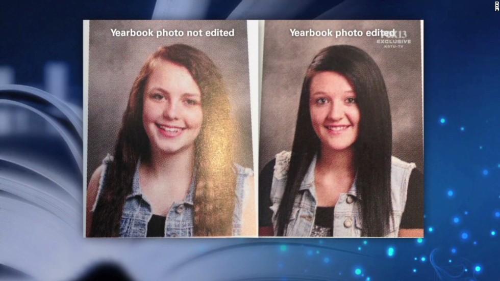 Escuela altera fotos del anuario