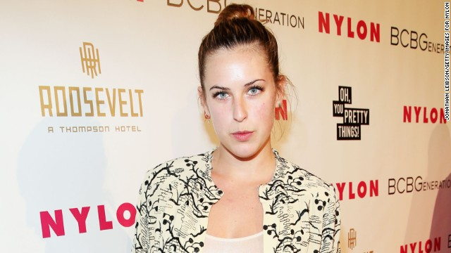 Scout Willis attends a party earlier this month. She wore a more revealing outfit this week.