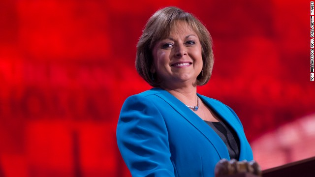 "Gov. Susana Martinez, R-New Mexico, turned heads when she spoke at the 2012 Republican National Convention in Tampa. She is the first Latina to serve as governor. She is often mentioned in GOP circles as someone who ""would make a good running mate."""