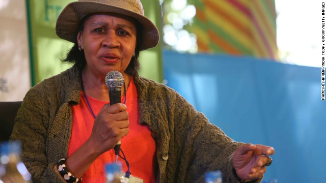 "Born in 1949 as Elaine Richardson on the island of Antigua,<!-- --> </br>the novelist known as Jamaica Kincaid moved to the U.S. as a young woman. She wrote in ""A Small Place"" of life in post-colonial Antigua and has written for publications such as the New Yorker. She is a professor of literature at Claremont-McKenna College."