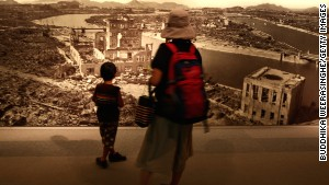 Visiting the Hiroshima Peace Memorial Museum is a sobering experience.