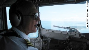 Missionary Flights International\'s Ric Hallquist has been flying DC-3s for 30 years.