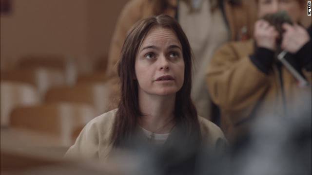 "Tiffany ""Pennsatucky"" Doggett (Taryn Manning) is a meth-addicted, born-again Christian who is not above attacking fellow inmates, including Piper."