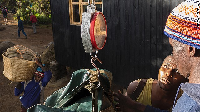 Porter working conditions have improved in recent years thanks to initiatives such as the Kilimanjaro Porters Assistance Project, which helps ensure good conditions, lends clothing and provides training.