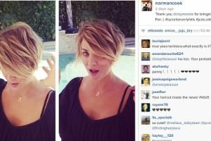 Celebridades y famosos con pelo corto