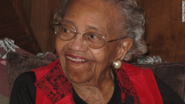 "<a href='http://www.cnn.com/2008/POLITICS/10/20/centenarian.votes/'>Ann Nixon Cooper became famous</a> after President-elect Barack Obama used her story on election night 2008 to talk about the country's progress. ""She was born just a generation past slavery,"" Obama said. ""At a time when women's voices were silenced and their hopes dismissed, she lived to see them stand up and speak out and reach for the ballot."" She died in 2009 at age 107. The secret to her long life, she said, was being cheerful: ""I've always been a happy person, a giggling person, a wide-mouthed person."" She also kept fit, dancing the electric slide until age 103."