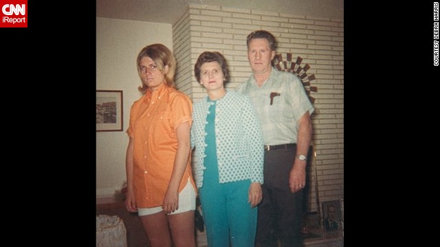 "<a href='http://ireport.cnn.com/docs/DOC-1119985'>Debra Harris, shown </a>at 14 in Pocatello, Idaho, in 1967, says her parents were ""the original grumpy cats."""