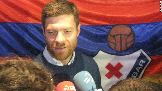 Former Eibar player Xabi Alonso is among those backing the club's bid for promotion.