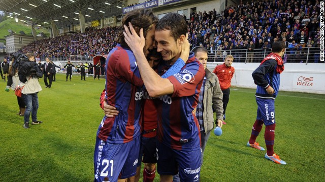 """The secret to their success has been humility, hard work and above everything the spirit of the team,"" lifelong Eibar fan Unai Eraso told CNN. ""No-one is above any other. This is indicative of Eibar's culture. The older players teach the younger players how to behave, how to work, how to be a team player."""