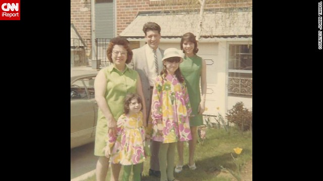 "<a href='http://ireport.cnn.com/docs/DOC-1137456'>Joann Taweel, </a>bottom left, of Philadelphia has fond memories when she looks at this photo from Easter 1967. ""All of our cousins were our best friends,"" she said. ""We played together and spent almost every weekend together in the summers. And especially holidays. Big Italian holidays! It instilled in me a responsibility and a need to stay close to my relatives."""