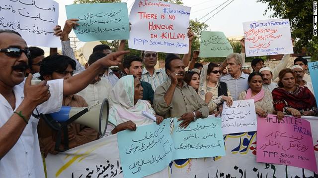 Más arrestados en Pakistán por lapidación de mujer embarazada