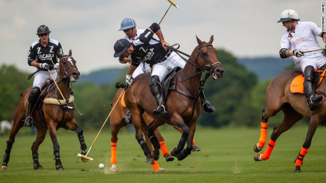 "He plays across three continents: Europe, South American and North America. ""I have never seen an athlete with such talent yet such humility,"" says Lyndon Lea, owner of Pieres' English team Zacara."