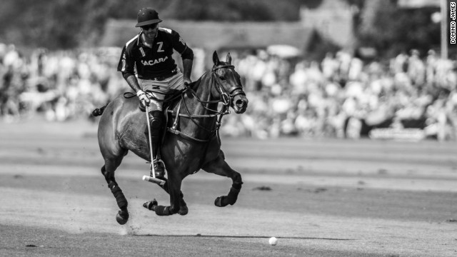"""Since I was a kid I was around horses and watching my father play, so always knew I liked the game a lot, but I didn't know how good I was going to be,"" Pieres says. ""As soon as I realized"