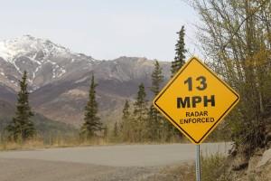 Límite de velocidad, o límite de gateo