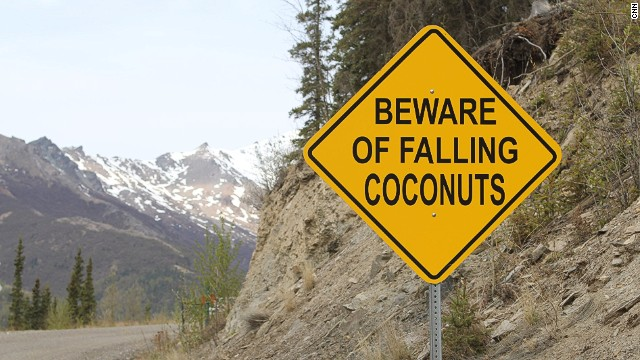 "A warning about tropical hazards is the first sign that makes drivers heading up the hill think, ""Huh?"""
