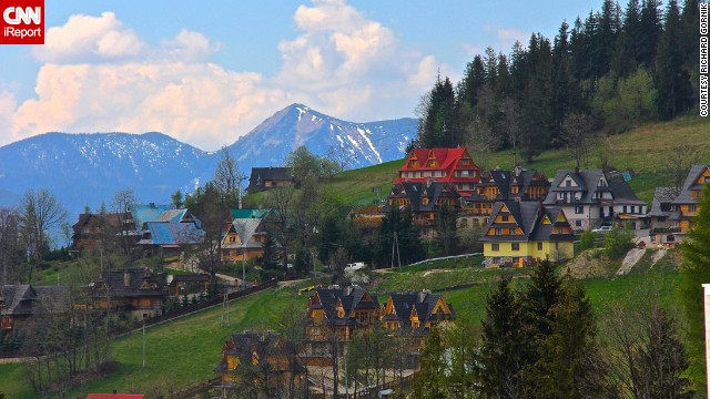 "<strong>10. ""Picture-perfect"" Zakopane:</strong> Richard Gornik was awed by ""the beautiful scenery and the holiday atmosphere"" in the town of <a href='http://ireport.cnn.com/docs/DOC-1137064'>Zakopane</a> during a visit to Poland."