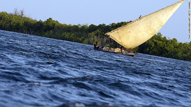 Locals rely on traditional dhows to travel between the islands in the main archipelago.