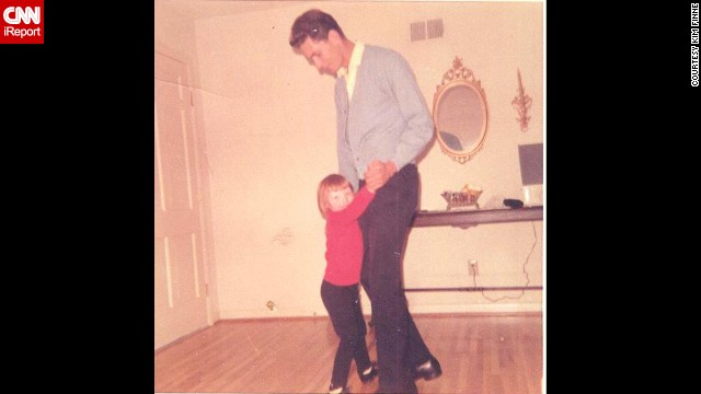 <a href='http://ireport.cnn.com/docs/DOC-1119605'>Kim Finne</a> fondly remembers dancing with her father before the family's New Year's Eve party in 1969 in Sherwood, Arkansas.