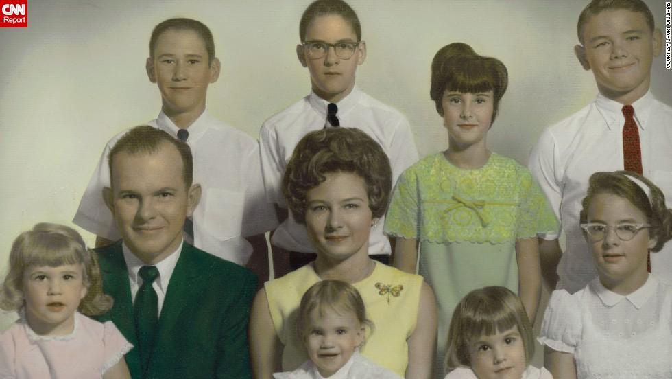 The real Kodak Moments Nostalgic photos show 1960s family