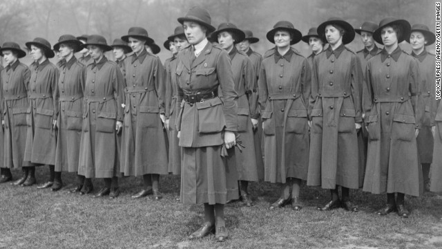 Photos: Women during World War I