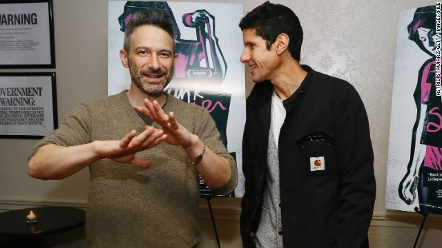 "Evidently Arnold Schwarzenegger doesn't have the Beastie Boys' vote. When the actor-politician wanted to use the group's ""Sabotage"" to promote his March movie release of the same name, the Beastie Boys wouldn't let him. According to the <a href='http://www.nydailynews.com/entertainment/music-arts/beastie-boys-rejected-schwarzenegger-request-sabotage-article-1.1812007' target='_blank'>New York Daily News</a>, Michael ""Mike D"" Diamond, right, with Adam Horovitz, testified during a court session for the Beasties' Monster Energy Drink lawsuit that letting Schwarzenegger use the song would've felt like ""too much of an endorsement. We weren't fans of Mr. Schwarzenegger's recent ... work."""