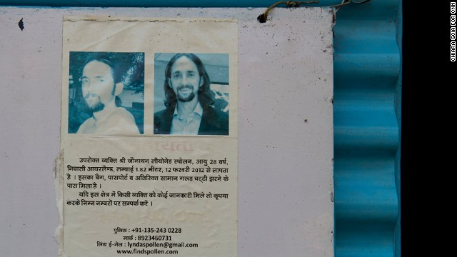 Two years after he went missing, posters remain to find Jonathan Spollen.
