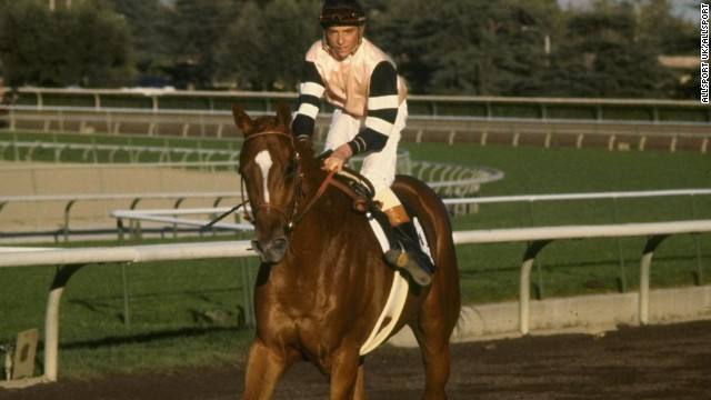 The last horse to achieve the feat was Affirmed, ridden to the trio of victories by Steve Cauthen 36 years ago.