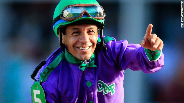 California Chrome's jockey Victor Espinoza had the chance of a Triple Crown in 2002 with War Emblem but fell short. He says he never dreamed of getting a second shot at the treble.
