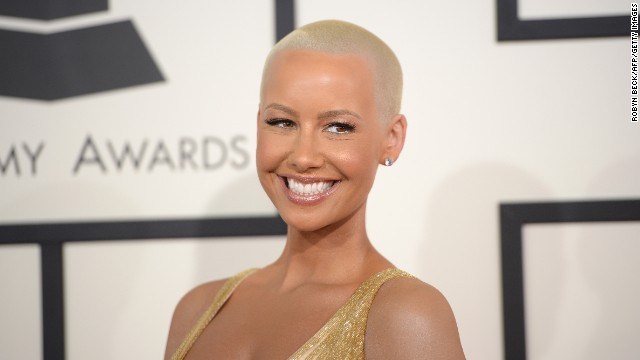 "Amber Rose's bald look has become her signature -- so much so that <a href='http://omg.yahoo.com/blogs/celeb-news/amber-rose-almost-unrecognizable-very-long-hair-180632250.html' target='_blank'>a playful photo of the celebrity model in a long blond wig</a> rendered her nearly unrecognizable. But it turns out her cut is inspired by another short-hair standout: Sinead O'Conner. ""I knew I wanted to look as beautiful as she did one day, so when I was old enough to make my own decisions, at 19, I cut it off,"" Rose told <a href='http://www.inkedmag.com/features/article/amber-rose/' target='_blank'>Inked magazine in 2011</a>."