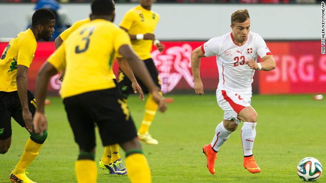 Xherdan Shaqiri (Switzerland): The Swiss don't have much offensive firepower (only one player has double-digit international goals), but that might change as this 22-year-old is earning comparisons to the world's top attackers. Why haven't you heard of him? Three reasons: Franck Ribery, Arjen Robben and Thomas Mueller. Some of the world's best players are attacking midfielders at Shaqiri's club, Bayern Munich. Good mentors for a budding star.