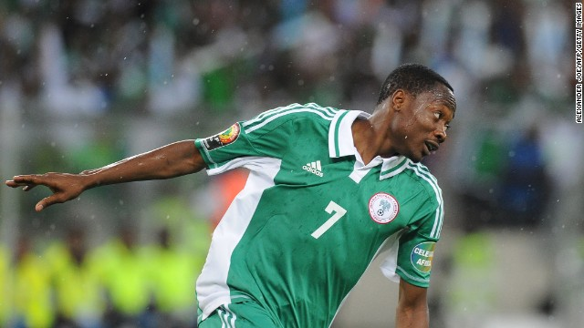 Ahmed Musa (Nigeria): At 21, Musa has blazing speed but a habit of flubbing goal opportunities. In 37 caps for Nigeria, he's found the net only five times. Expect the Super Eagles to counterattack, and with John Obi Mikel and Victor Moses in the midfield, you can also expect the passes to be on time. Whether Musa and fellow international underachiever Peter Odemwingie can make the most of them may dictate Nigeria's fate.