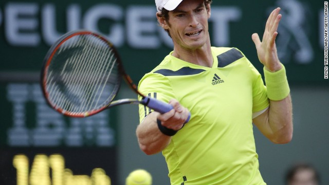Andy Murray squandered a two-set lead against France's Gael Monfils before eventually prevailing 6-4 6-1 4-6 1-6 6-0.