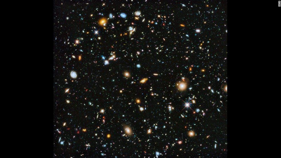 Astronomers using the Hubble Space Telescope have pieced together this picture that shows a small section of space in the southern-hemisphere constellation Fornax. Within this deep-space image are 10,000 galaxies, going back in time as far as a few hundred million years after the Big Bang. Click through to see other wonders of the universe.