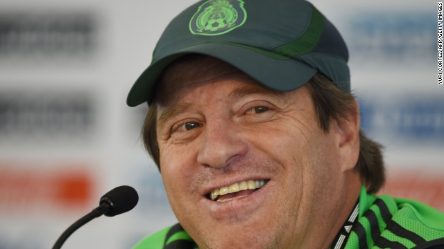 Miguel Herrera (Mexico): OK, fine, he's an ex-player. But forget Oribe Peralta, Giovani dos Santos and Chicharito. No position for El Tri has been more in dispute than manager. Since Javier Aguirre was sacked after the 2010 World Cup, five managers have helmed Mexico. Herrera's first squad thrashed New Zealand 9-3 in a two-game playoff to qualify for the World Cup. But given Mexico's group, don't expect his next games to go so swimmingly.