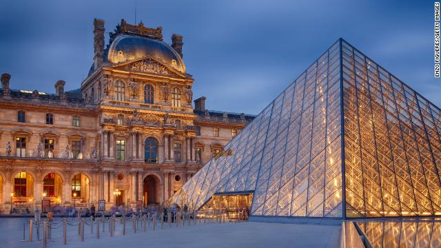 The Louvre in Paris is the world's most visited museum, with 9.3 million visitors in 2013.
