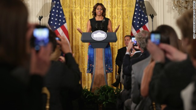 First lady announces initiative to end veteran homelessness