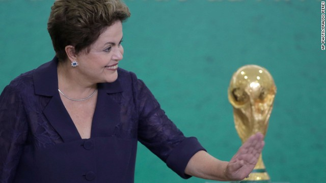 Will Brazil's loss hit Dilma's re-election chances?