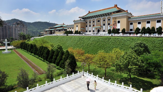The National Palace Museum in Taiwan had about 4.4 million visitors in 2013.
