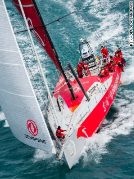 You get four hours' sleep at a time, but that could be disturbed if your crewmates need your help with a manoeuvre. For the first time, all boats in the 2014 Volvo Ocean Race will be the same.