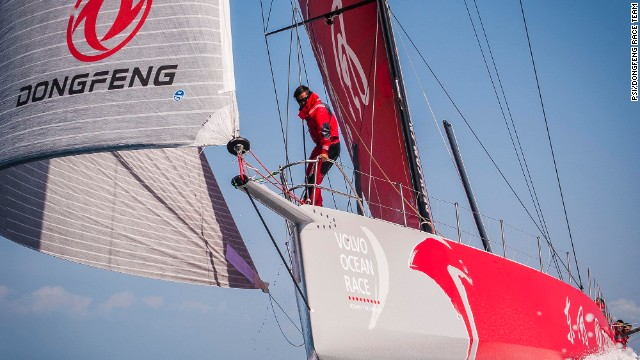 For Dongfeng, the Chinese sponsors, this race is a chance for Chinese business to make a global mark. The sailors hope they can establish offshore sailing as a sport in China.