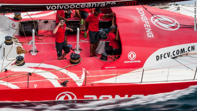 "The real pioneering project for the Volvo Ocean Race is yet to come,"" concludes Lingling Liu. ""It will probably come one or two editions later when we see a Chinese skipper leading Chinese sailors, supported by Chinese sponsors."""
